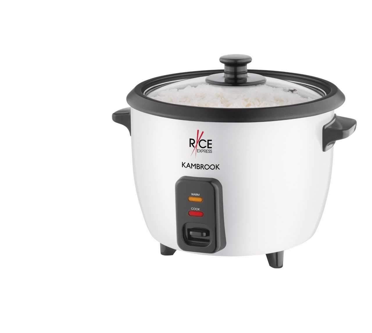 Cuiseur /à riz avec fonction maintien au chaud Arendo Capacit/é 1,4 l Protection thermique Protection contre la chaleur - Avec cuiseur vapeur mod/èle 2019 540 W